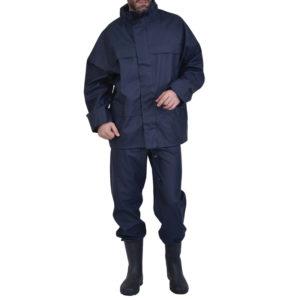 Σετ σακάκι/παντελόνι αδιάβροχο κολλημένες ραφές & κουκούλα