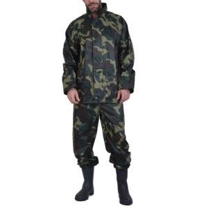 Σετ σακάκι/παντελόνι αδιάβροχο παραλλαγής POLYAMIDE