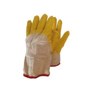 Γάντια βαμαβακερά εμποτισμένα σε Latex σαγρέ