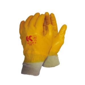 Γάντια βαμβακερά πλήρως εμβαπτισμένα σε νιτρίλιο NBR