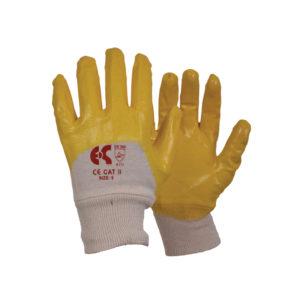Γάντια βαμβακερά 1/2 εμβαπτισμένα σε νιτρίλιο NBR