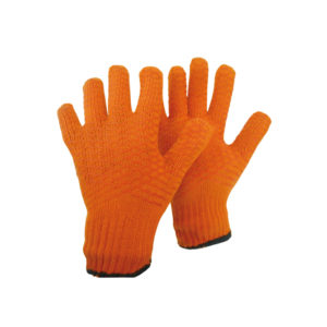 Γάντια πλεκτά με επικάλυψη σιλικόνης