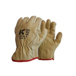 Γάντια δερμάτινα μηχανικών με επένδυση Driver