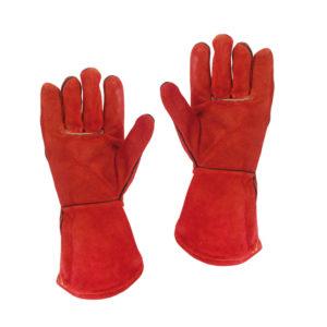 Γάντια δερμάτινα ηλεκτροσυγκόλλησης ενισχυμένες ραφές