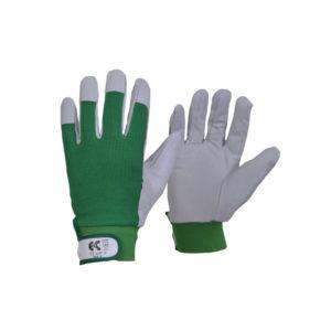 Γάντια δερμάτινα από μικροΐνες ελαστική ράχη FLEXY
