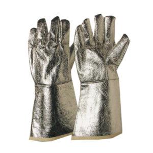 Γάντια πυρίμαχα από aramid αλουμινιζέ 38cm