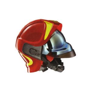 Κράνος πυροσβεστών με δύο προσωπίδες VFR 2000