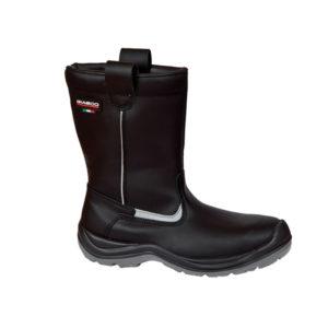 Μπότες δερμάτινες πυροσβεστών S3 GIASCO